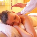 Face and Body Massage with Natural Essential Oils